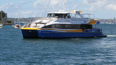 One of the then-new ferries in service in 2015.