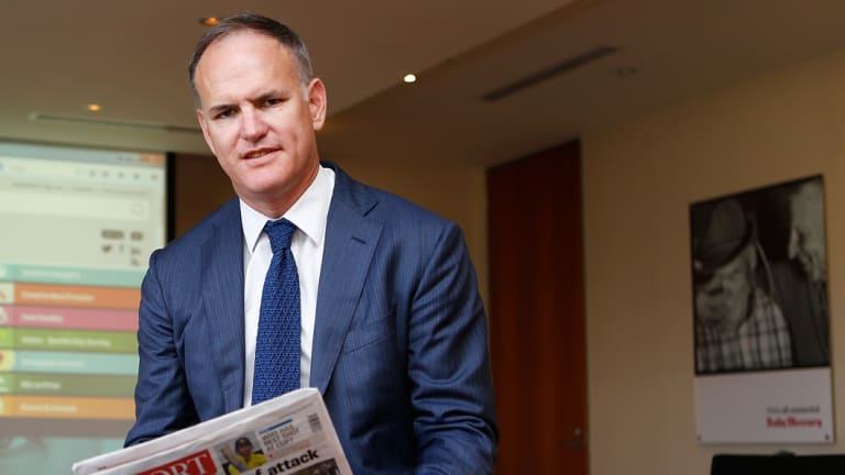 "News Corp Australia's executive chairman Michael Miller (pictured) on Friday announced a ""HiPages for adult services"" would be put in a development program run by the publishing giant."
