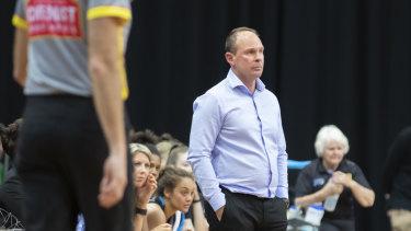 Canberra Capitals coach Paul Goriss.