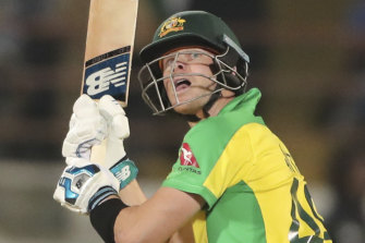 Steve Smith fired with the bat but he had little help in the middle and lower order.