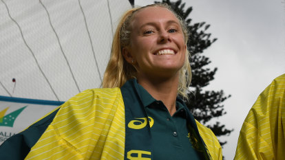 Tess Lloyd almost died when she was hit by a windsurfer. Now she's going to the Olympics