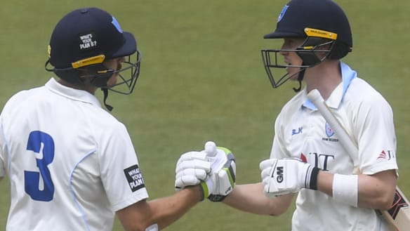 Queensland hopefuls get a case of the Blues in Sheffield Shield