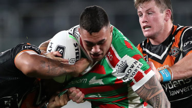 Jaydn Su'A has been charged with a careless high tackle.