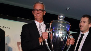 David Gallop announced the NCIP on the eve of the first season of the FFA Cup in 2014.