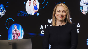 Nine's managing director of local markets and group marketing Lizzie Young.