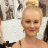 Victim of Sydney knife attack Michaela Dunn, 24.