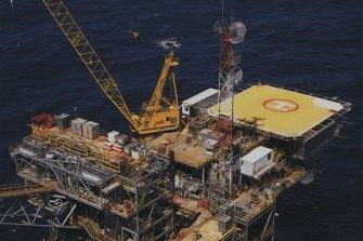 BHP drilled Australia's first offshore wells in Bass Strait.