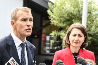 Planning Minister Rob Stokes and NSW Premier Gladys Berejiklian have called for a review into planning controls in Pyrmont.