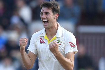 Weary: Selectors are considering resting Pat Cummins for the fifth Test.