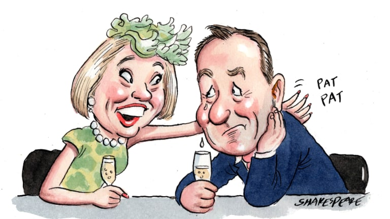 Racing royalty Gai Waterhouse and Solomon Lew loyalist Mark McInnes ruminated over (unsuccessful) investments made in previous Melbourne Cup runners.