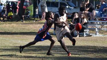 The Barunga Festival football carnival, near Katherine, runs for three days.