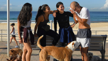 The sisters spend hours walking their dogs each day, and have ran the City2Surf seven times before.