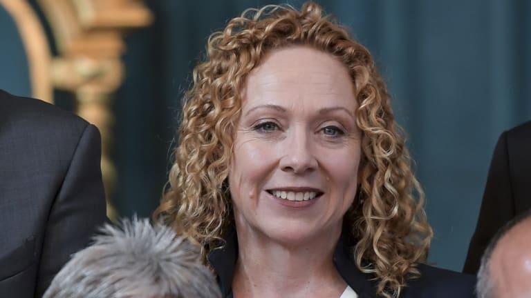 New Transport Minister Melissa Horne.
