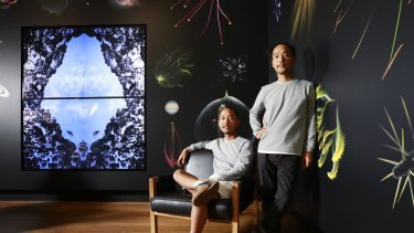 Brisbane twins Man and Wah's installation is now homed at the Museum of Brisbane.