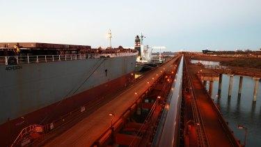 Port Hedland port.