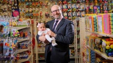 Baby Bunting CEO Matt Spencer has registered new trademarks for the retailer.