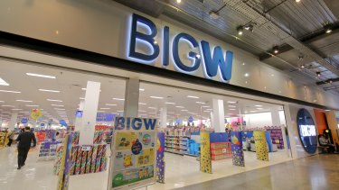 Woolworths will close 30 Big W stores at a cost of $270 million.