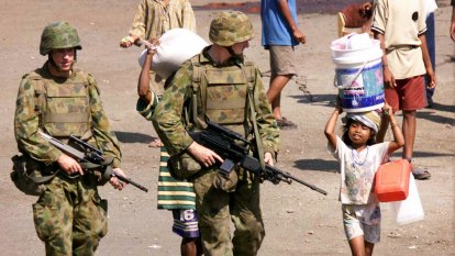From the Archives, 1999: Australian peacekeepers secure Dili