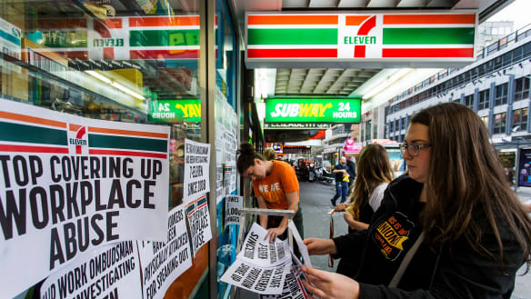 7-Eleven accused of paying people not to give evidence at parliamentary inquiry
