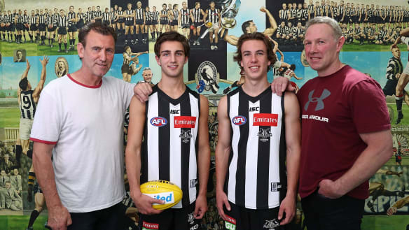 In the name of the father: the pressure on AFL father-son prospects