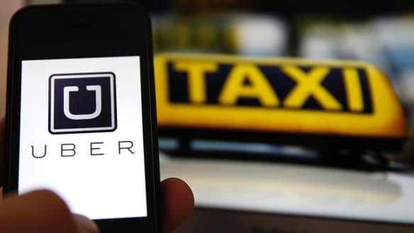 Brisbane Ubers outnumber taxis three-to-one