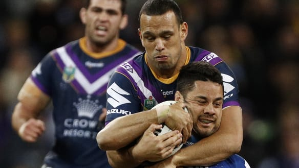 Storm's Chambers cops three-game NRL ban