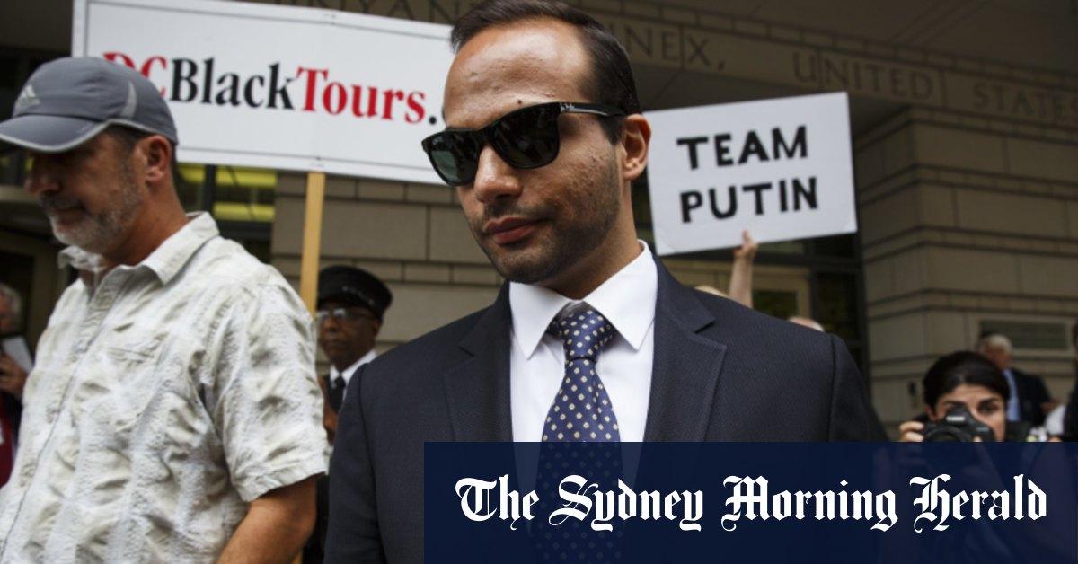 Trump grants full pardon to Russia probe aide George Papadopoulos – Sydney Morning Herald