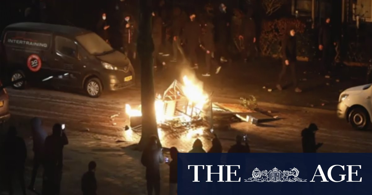 Dutch brace for fourth night of coronavirus riots
