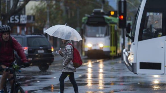 Heavy rain lashes state, causing peak-hour havoc