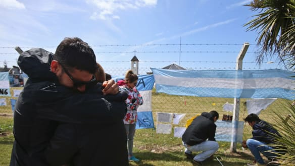 Argentinian submarine found a year after it vanished with 44 aboard