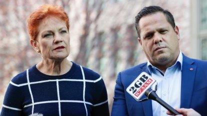 Hanson's last senator under threat as One Nation WA opens seat up to challenge