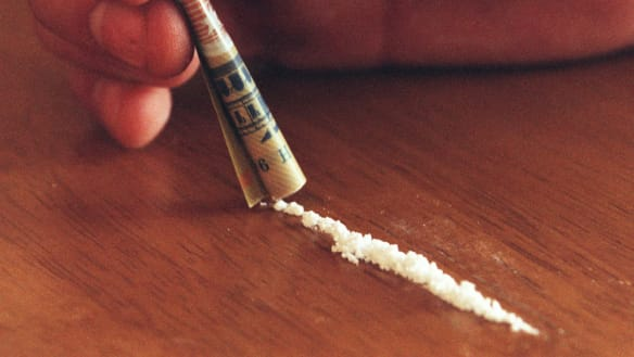 Cocaine was among the drugs found by police.