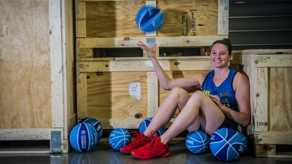 Canberra Capitals recruit Kelsey Griffin will be fit for the first game of the season.