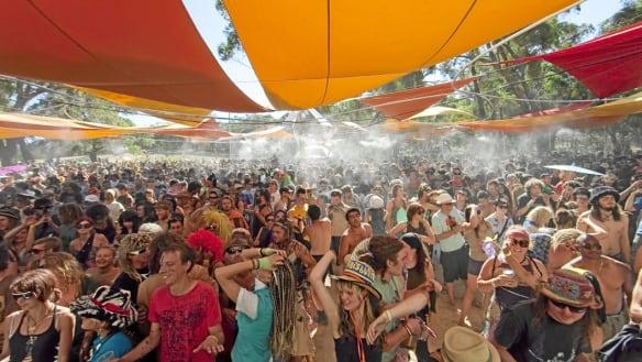 Suspicious fire lit at Rainbow Serpent festival site