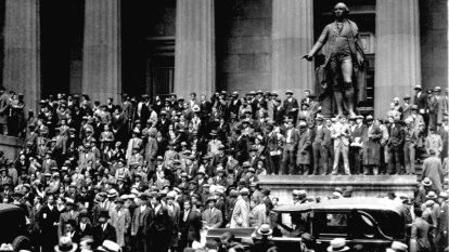 From the Archives, 1929: Wall Street suffers spectacular crash
