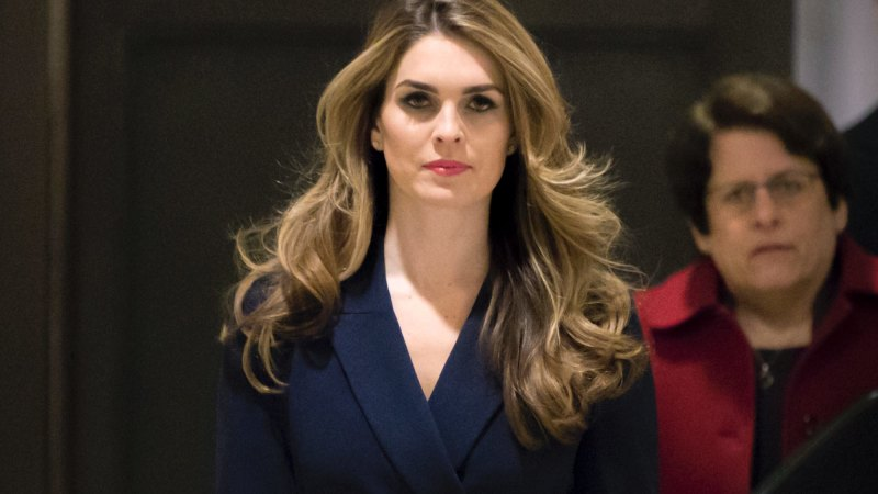 Hope Hicks to return to the White House as Trump girds for re-election