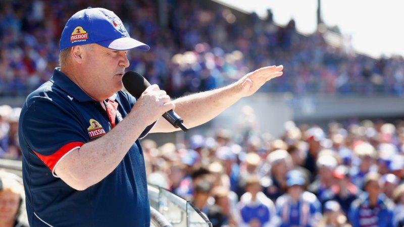 'No interest': Bulldogs president slams timing of AFLX