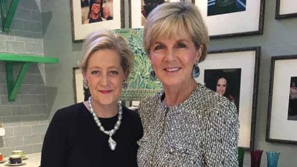 The jewels, the designer and Liberal Party donor: Julie Bishop facing new questions over disclosures