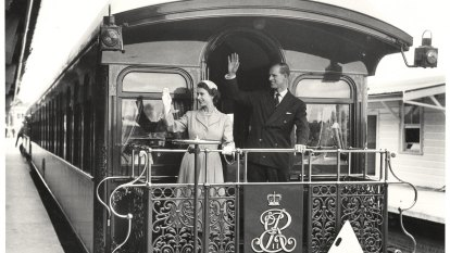 From the Archives, 1954: Queen Elizabeth's historic Australian tour ends