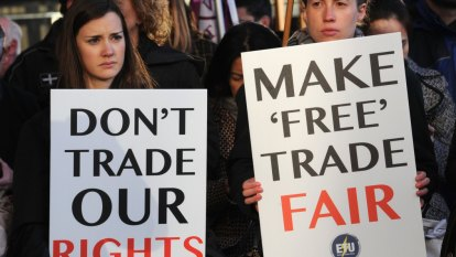 Unions pressure Labor MPs for more worker protections in trade deals