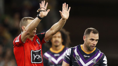Storm skipper Smith may face fine for slap