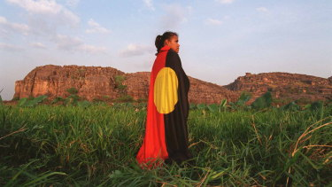 Cathy Freeman's proud display of the Aboriginal flag was a landmark chapter in its history.