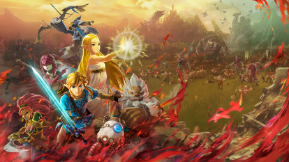 Zelda Breath of the Wild spinoff nails the aesthetic, misses the point