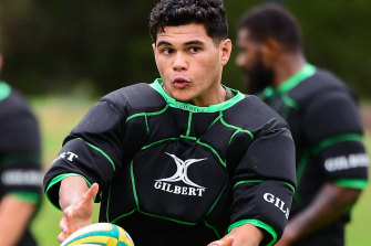 Noah Lolesio is yet to earn a Test cap.
