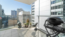 The 2-bedroom apartment at 1108/79-91 Berry Street, North Sydney sold off-market for $925,000.