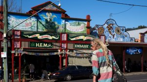 The commune was at Mount Burrell, near the alternative mecca of Nimbin in northern NSW.