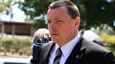 Queensland Police Service Homicide Investigation Unit Detective Inspector Damien Hansen.?