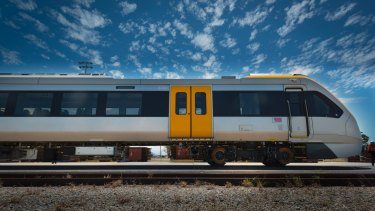 The New Generation Rollingstock trains, which will be used on Cross River Rail.