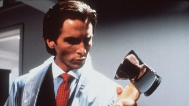 01307324.jpg Pic supplied for publicity by Columbia Tri-Star Still from the film American Psycho, Christian Bale