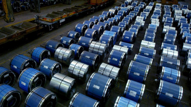 Construction is a key driver of steel demand in China.